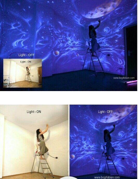 Glow In The Dark Wall Murals 146 best darkly dreaming - glowing grandeur images on pinterest