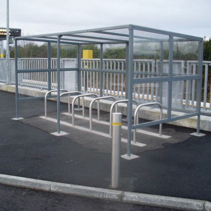 Cycle Shelter Type 4 | Larkin Street Products Manufacturers in Ireland and the UK