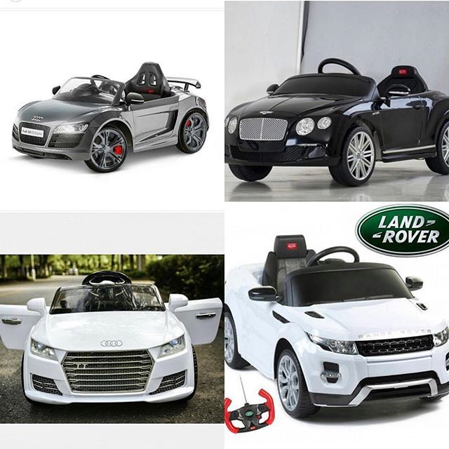 Ride on Car 12V Kids Electric Car Baby Toys (Bentley, Audi, Ferrari, Range Rover, Lambo...) TO BUY: Comment with your email address, and you'll receive a secure checkout link.Options: Audi: 199,00 €Lambo: 299,00 €Ferrari: 299,00 €Range Rover: 199,00 €Bentley: 249,00 €Description (Audi A3): Ride on car with Remote Control2.4G Remote Control (Parental Control RC)Driving forward
