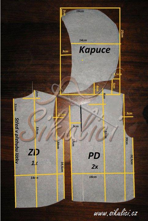 Bodywarmer  pattern 62-68