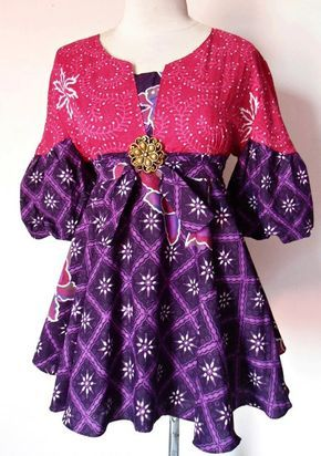 Blouse batik Modern