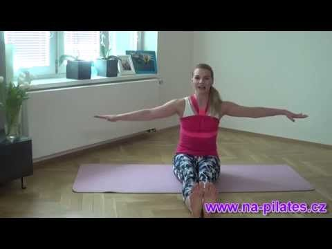 10 minut s Na Pilates - tvarování pasu - YouTube