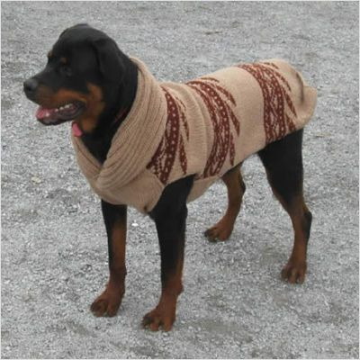 dog sweaters for large dogs | Shawl Collar Dog Sweater