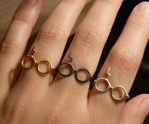 Harry Potter Glasses Rings.
