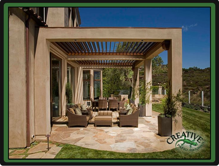 Louvered Patio Covers » Creative Patios