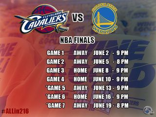 We are excited to share that all of the 2016 NBA Finals games will air on NewsChannel 5, and we will have special coverage before and after each game to keep you up-to-date on everything Cavs.