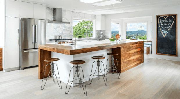 #kitchen #2017trends #KitchenTrends | 8 strong kitchen design trends for 2017 | @meccinteriors | design bites