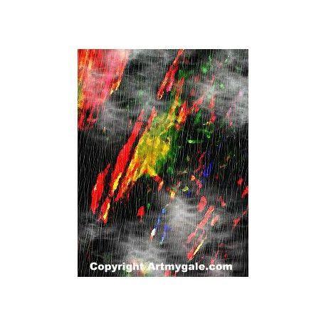 Asteroides - 25,00 €  #Art #Artiste