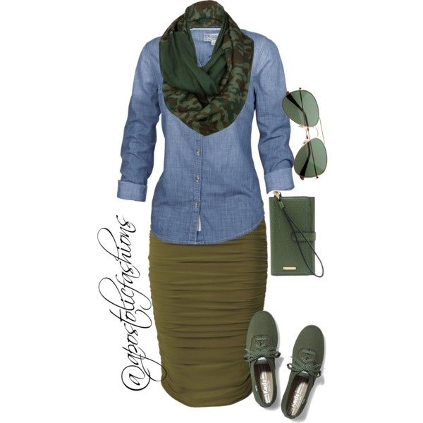 Apostolic Fashions #1054 by apostolicfashions on Polyvore featuring Fat Face, Keds, Celtek and Lodis