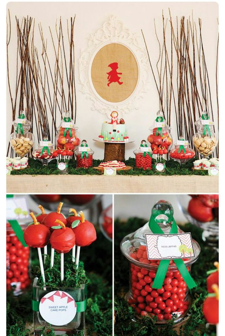 Little Red Riding Hood Themed Birthday Party