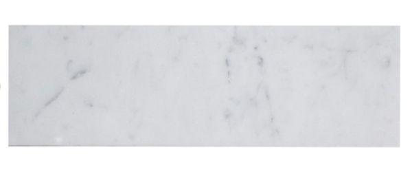 3x9 Subway Tile Carrara White Marble Honed In 2019
