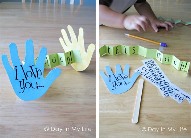 father's day craft magnets