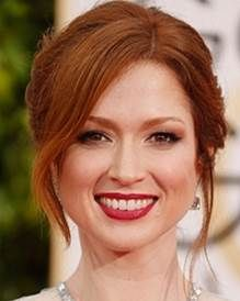 Learn how to recreate Ellie Kemper's #goldenglobe #hairstyle!