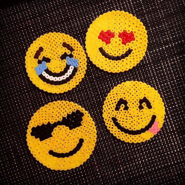 Emojis hama beads by  nokkosvirve
