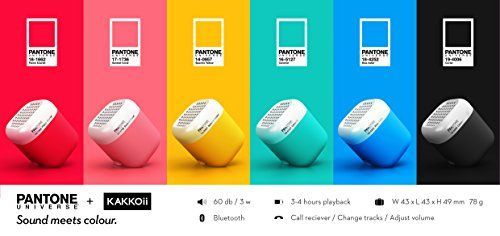Qb pantone by means of kakkoii is a tiny, vibrant and very moveable wi-fi speaker. In collaboration with pantone universe, kakkoii has created this tiny dice so that you can take song anywhere you pass. Which color is for you? #productdesign #industrialdesign #kakkoii #wireless #speaker #bluetooth