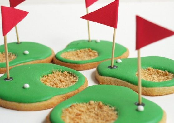 Golf Cookies for the PGA tour .... or Fathers Day, haha, if he's worthy