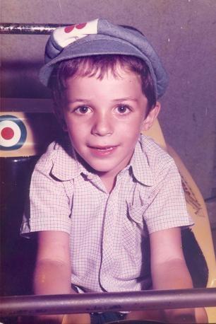 Alessandro Del Piero da bambino