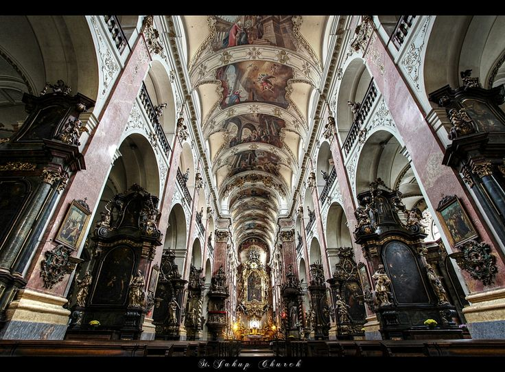 ... St. Jacob Church ... Prague by erhansasmaz.deviantart.com on @deviantART
