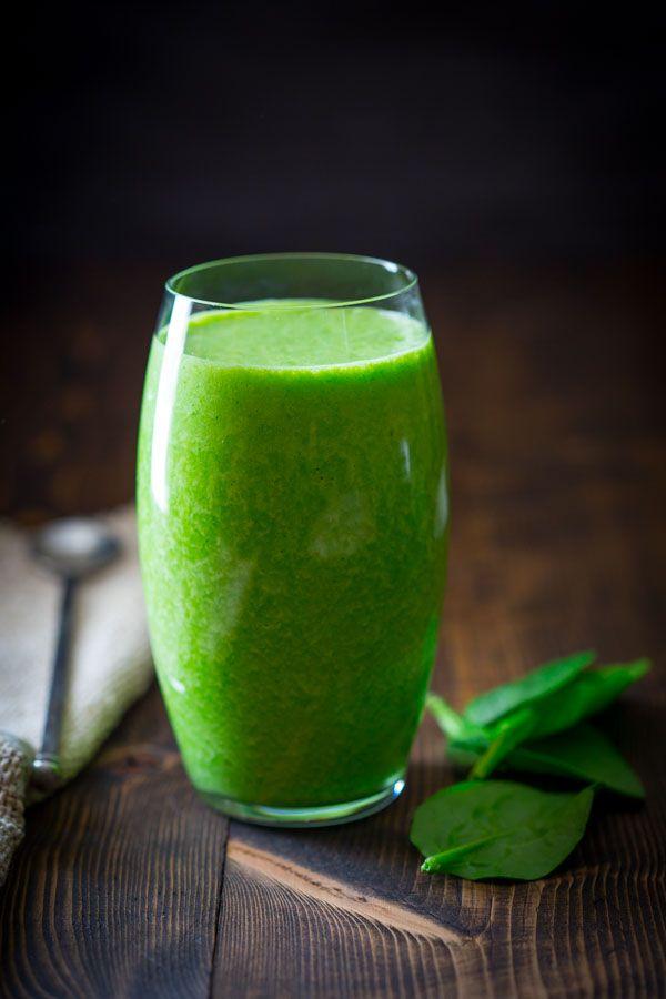 Vanilla Green Protein Smoothie on Healthy Seasonal Recipes
