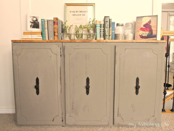10 best repurposed kitchen cabinets images on pinterest for Kitchen cabinets upper