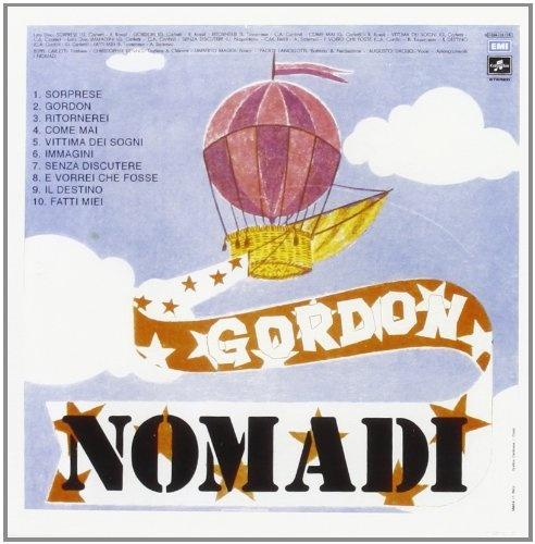Augusto Daolio 1975 I Nomadi - Gordon [EMI 3C064-18118] #backcover #Prog-Rock