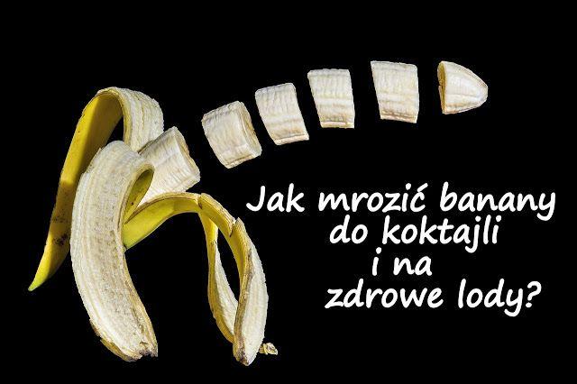 Wydawać by się mogło pytanie banalne - mrozimy banany i tyle. Okazuje się jednak, że nie jest to takie proste! Zobacz dlaczego...