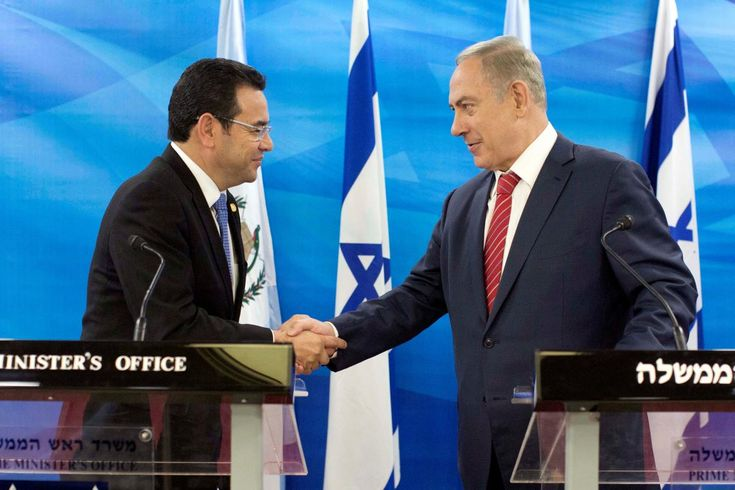 Guatemala's recognition of Jerusalem as the Israeli capital leaves President Jimmy Morales closer to the United States at a time his stock has fallen at home due to corruption allegations raised by U.N.-backed investigators.