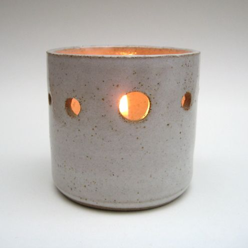 Jude Allman: Ceramic Tealight Holder