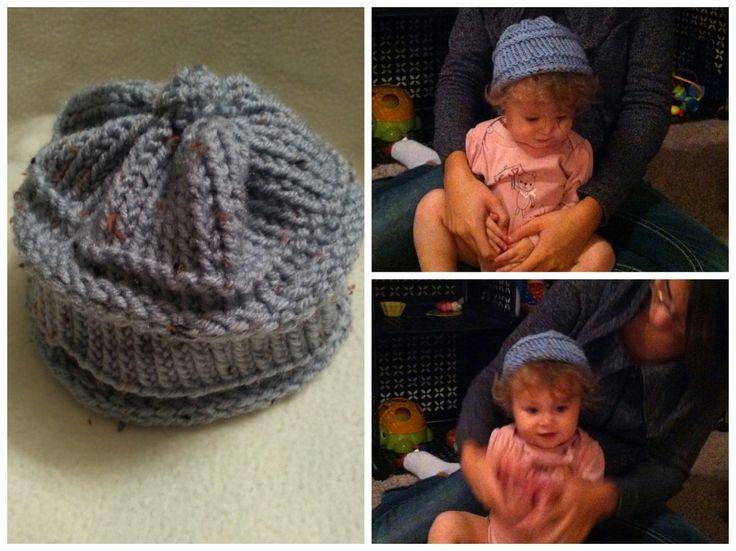 Loom Knit Baby Boy Hats New Hair