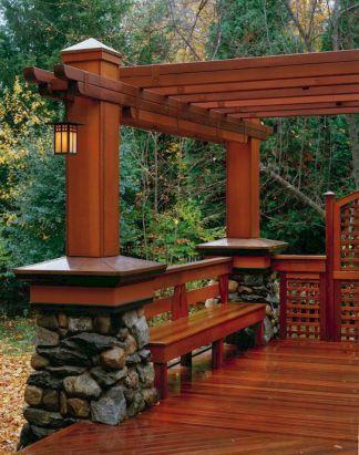 60 elegant wooden deck design ideas - Wood Deck Design Ideas