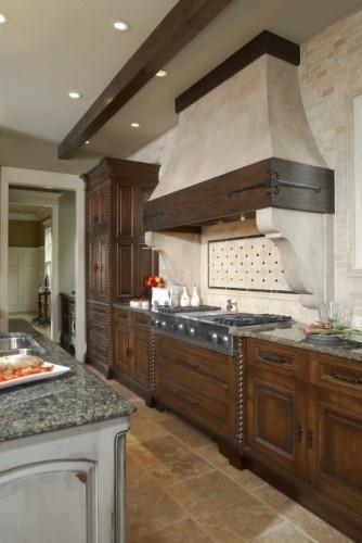 beautiful kitchen!: Kitchens Design, Vent Hood, Traditional Kitchens, Rustic Kitchens, Kitchens Ideas, Range Hoods, Photo, Kitchens Hoods, Furniture Guild