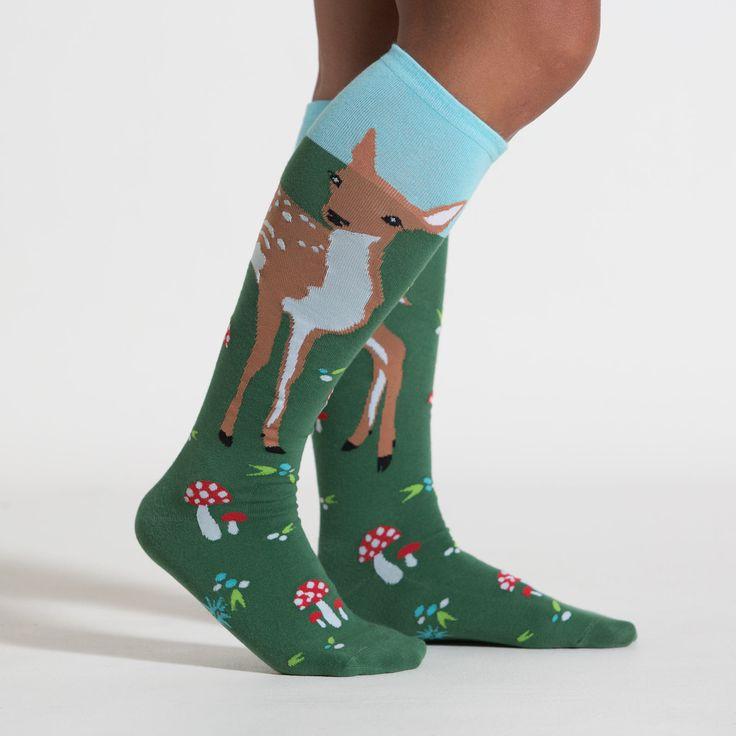 Fawn Memories Knee Socks