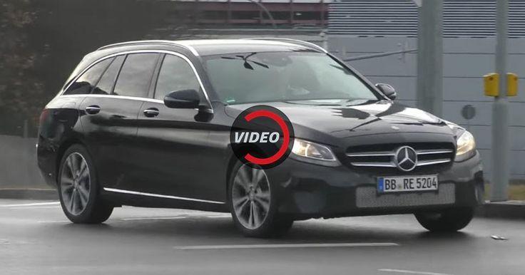 Scoop: Mercedes-Benz Polishing Up 2018 C-Class Estate #Mercedes #Mercedes_C_Class