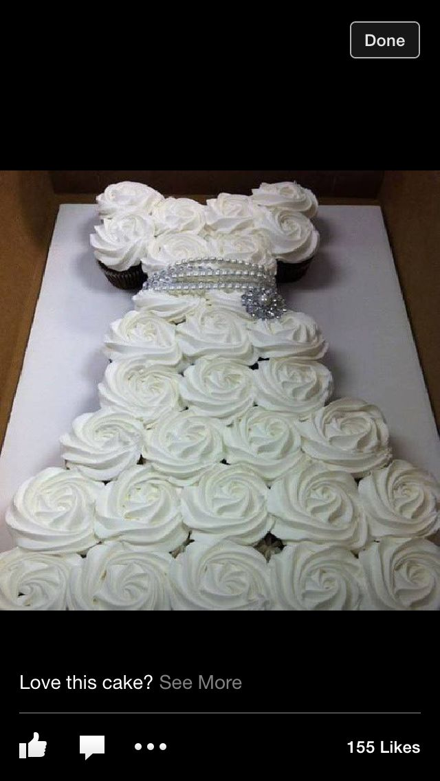 Bridal shower idea..   perfect.... doing this only in her colors