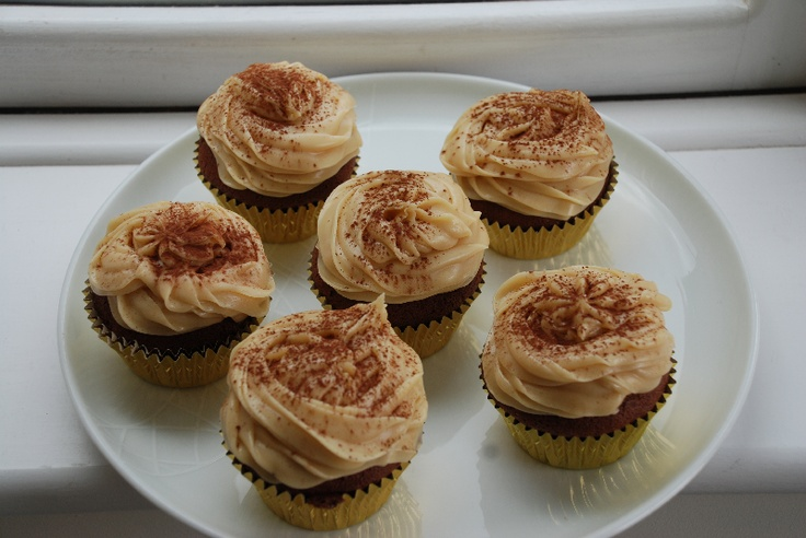 Choccy Peanut Butter Cupcakes