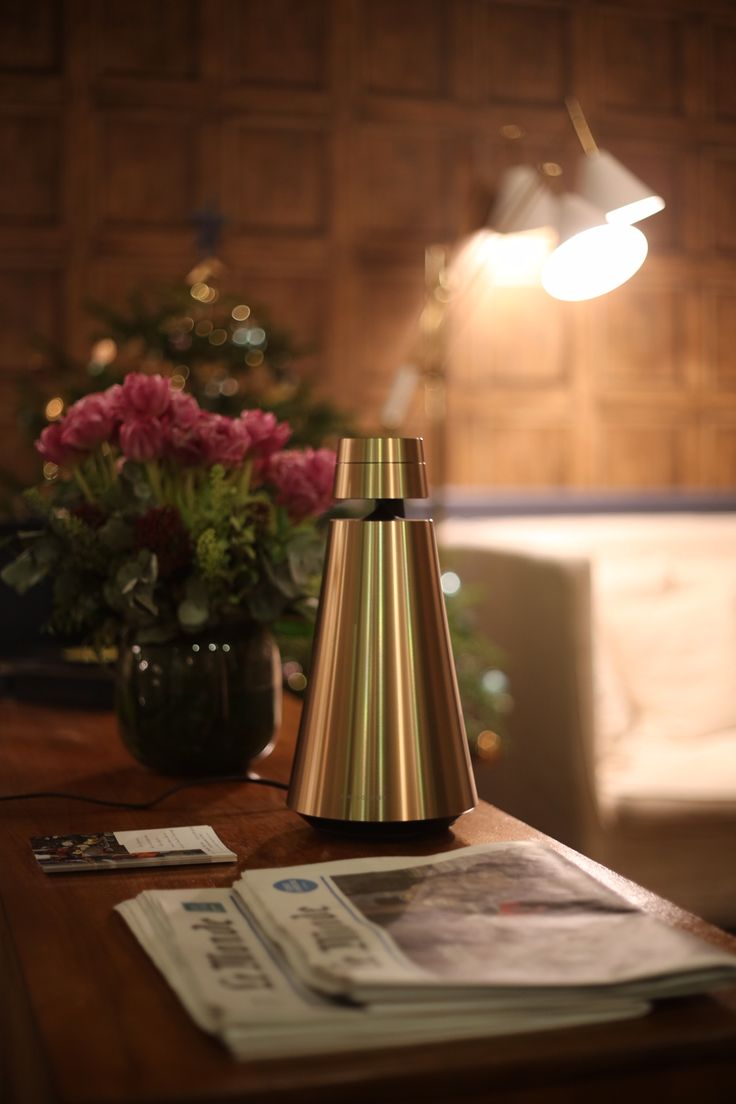 It looks as if this BeoSound 1 in Brass found the perfect spot to celebrate the holiday season! Thank You It @rsimacourbe - Raphael Simacourbe for sharing this cool shot on Instagram!