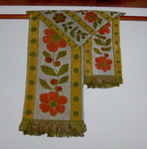 Reproduction Vintage Bath Towels