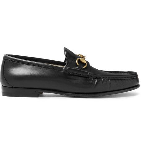 a9ed1d45bd8 GUCCI Roos Horsebit Leather Loafers.  gucci  shoes