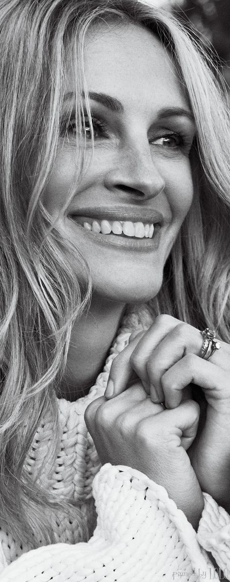 Julia Roberts~My Most favorite actress ever. She is a phenomenal woman and utterly gorgeous.