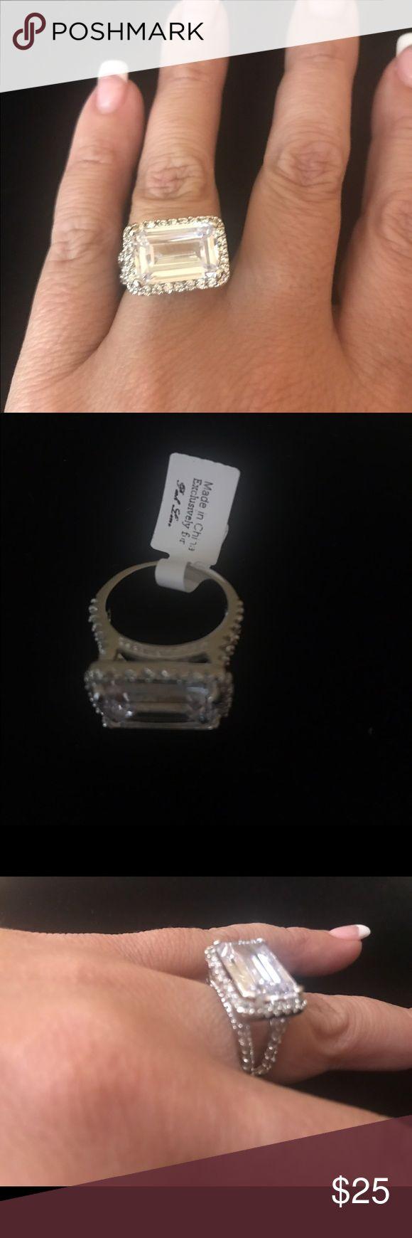 Park Lane Striking Ring Park Lane Striking Ring CZs size 7. Gorgeous!!!!! Park Lane Jewelry Rings