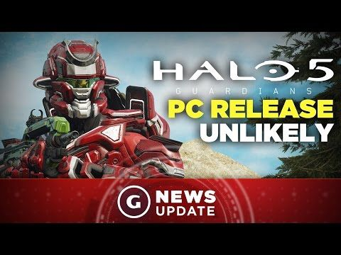 Halo 5 PC Release Unlikely, Xbox Exec Suggests - GS News Update - YouTube