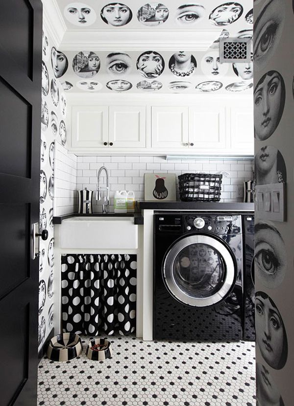 Create a color scheme for your laundry room // laundry room
