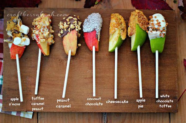 postres caseros con fruta para niños