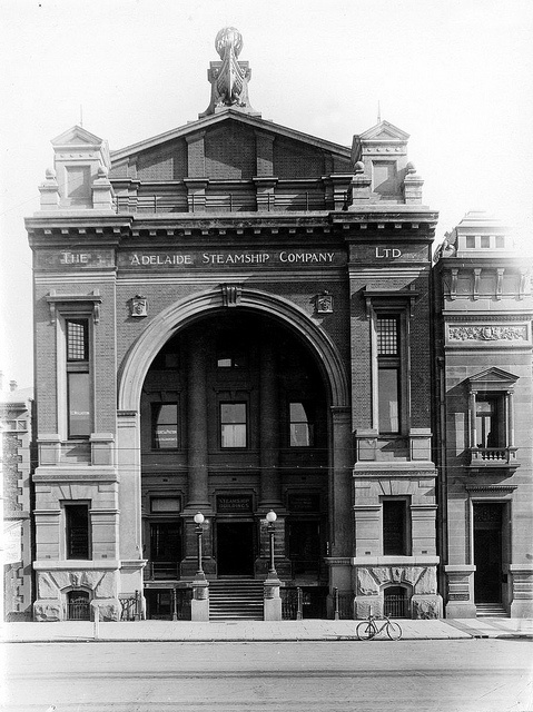 Adelaide Steamship Company, Currie Street, 1917 by State Library of South Australia, via Flickr