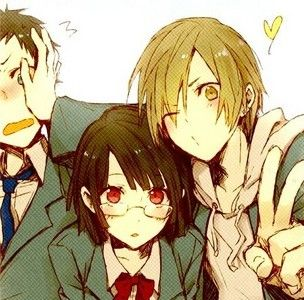 Happy Friends - Other & Anime Background Wallpapers on ...  |Anime Group Of Friends Boys And Girls