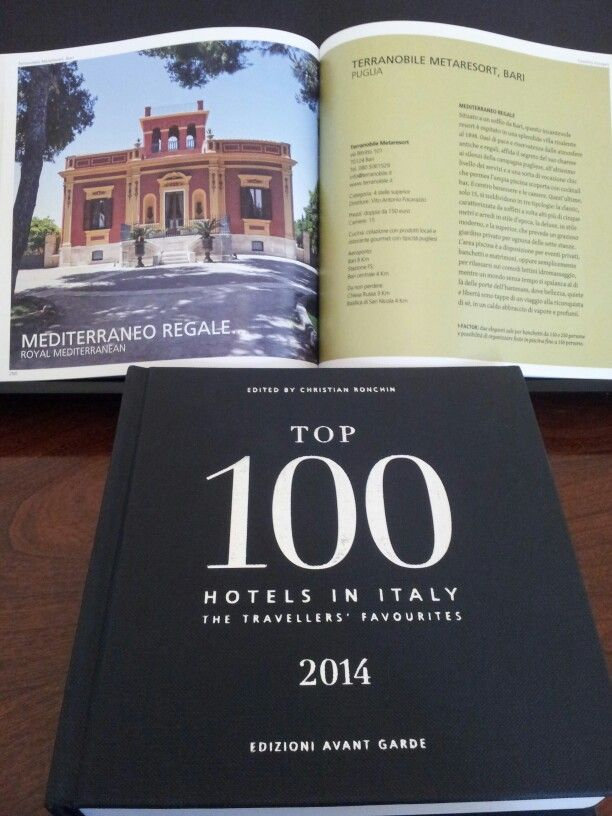 A #special 2014 #award! www.top100collection.com www.terranobile.it