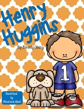 Henry Huggins reading activities Unit or Guided Reading Pack