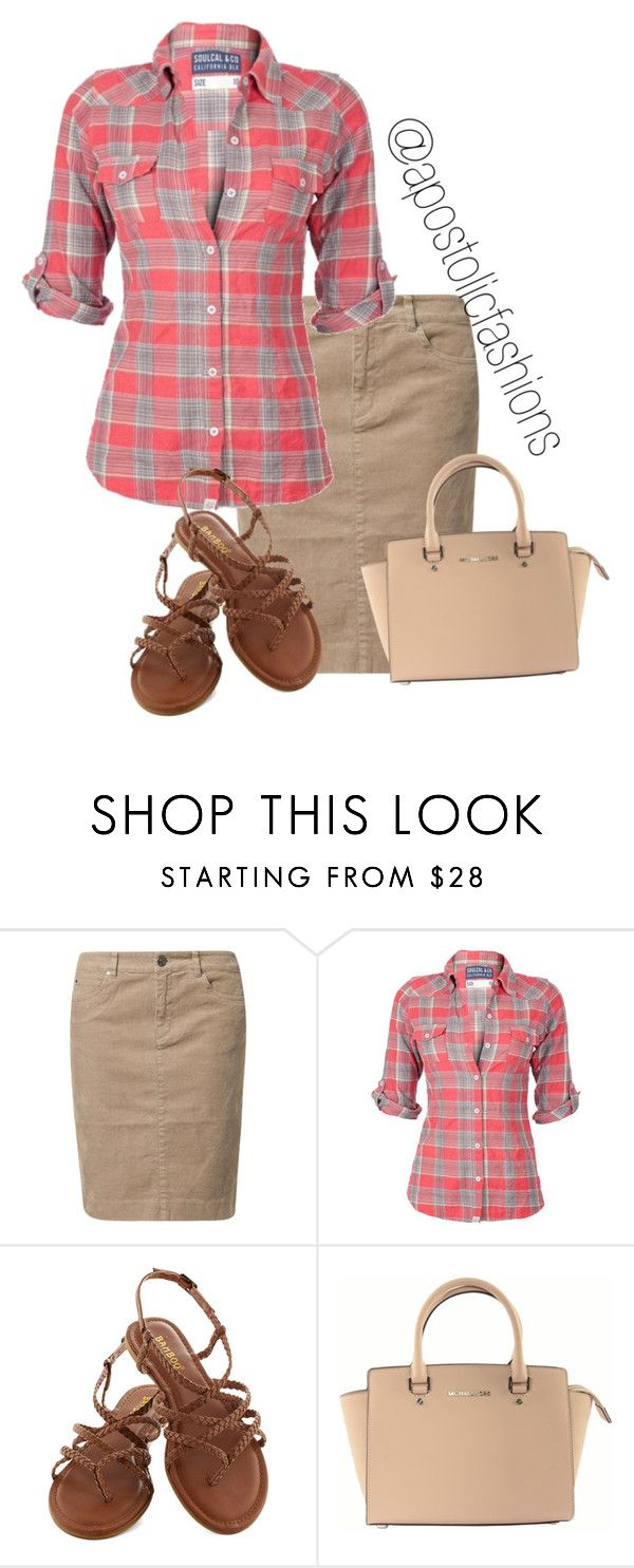 """Apostolic Fashions #1278"" by apostolicfashions on Polyvore featuring Jackpot, Soul Cal and Michael Kors"