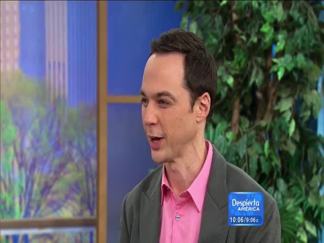 Sheldon (Jim Parsons) Aprendiendo Español En Despierta América #Video