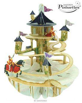 Princess Tower 3D Pirouette | Santoro London